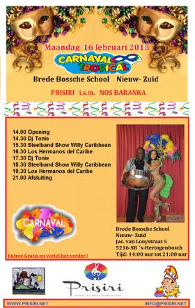 Carnaval Tropical 16 Februari – Brede Bossche School