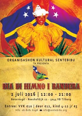 2 juli 2016 – Dia di Himno i Bandera