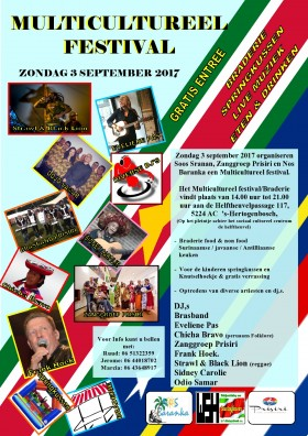 Multicultureel Festival 3 september