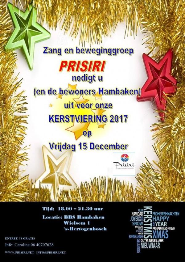 Kerstviering Prisiri